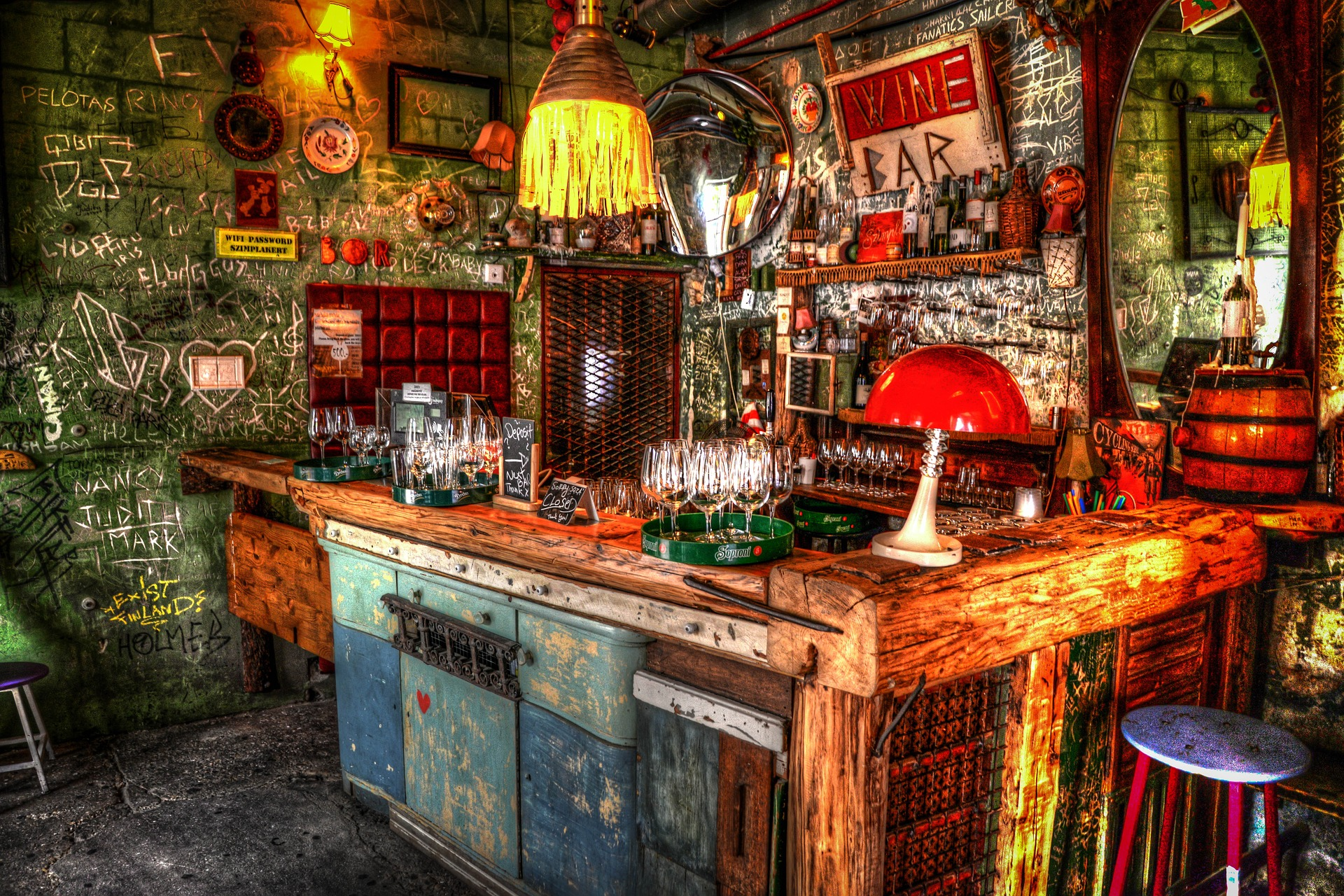 Budapest – the home of ruin pubs